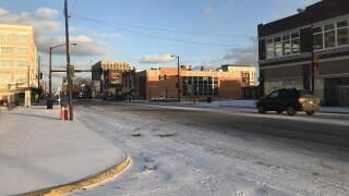 KCK icy streets