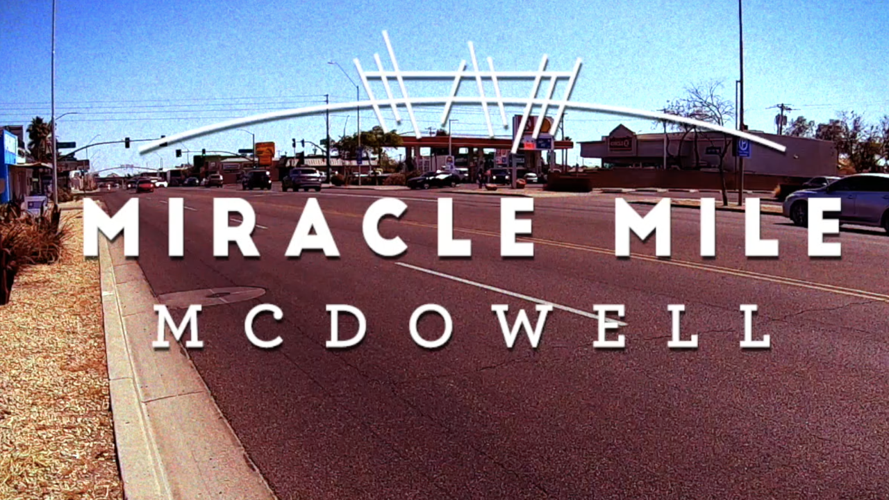 Miracle Mile on McDowell Road