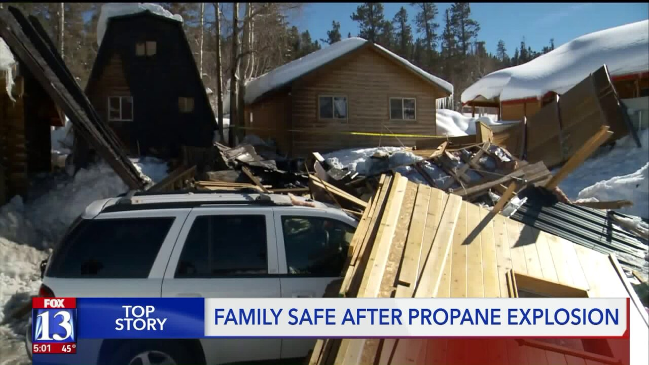 Four people taken to hospital by medical helicopter after propane explosion in KaneCounty