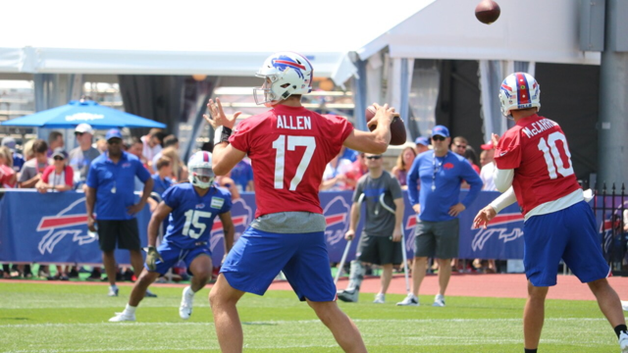 Joe B: 7 observations from 2018 Buffalo Bills training camp - Day 2