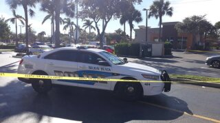 Delray Beach police are investigating a shooting that occurred at 1565 S. Congress Avenue, near Linton Boulevard.