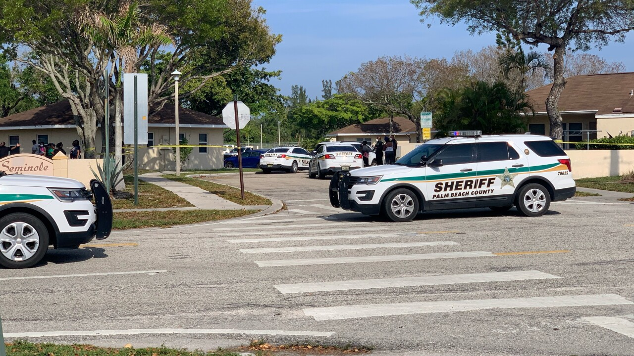 Detectives with the Palm Beach County Sheriff's Office Violent Crimes Division is investigating a homicide in Lantana.