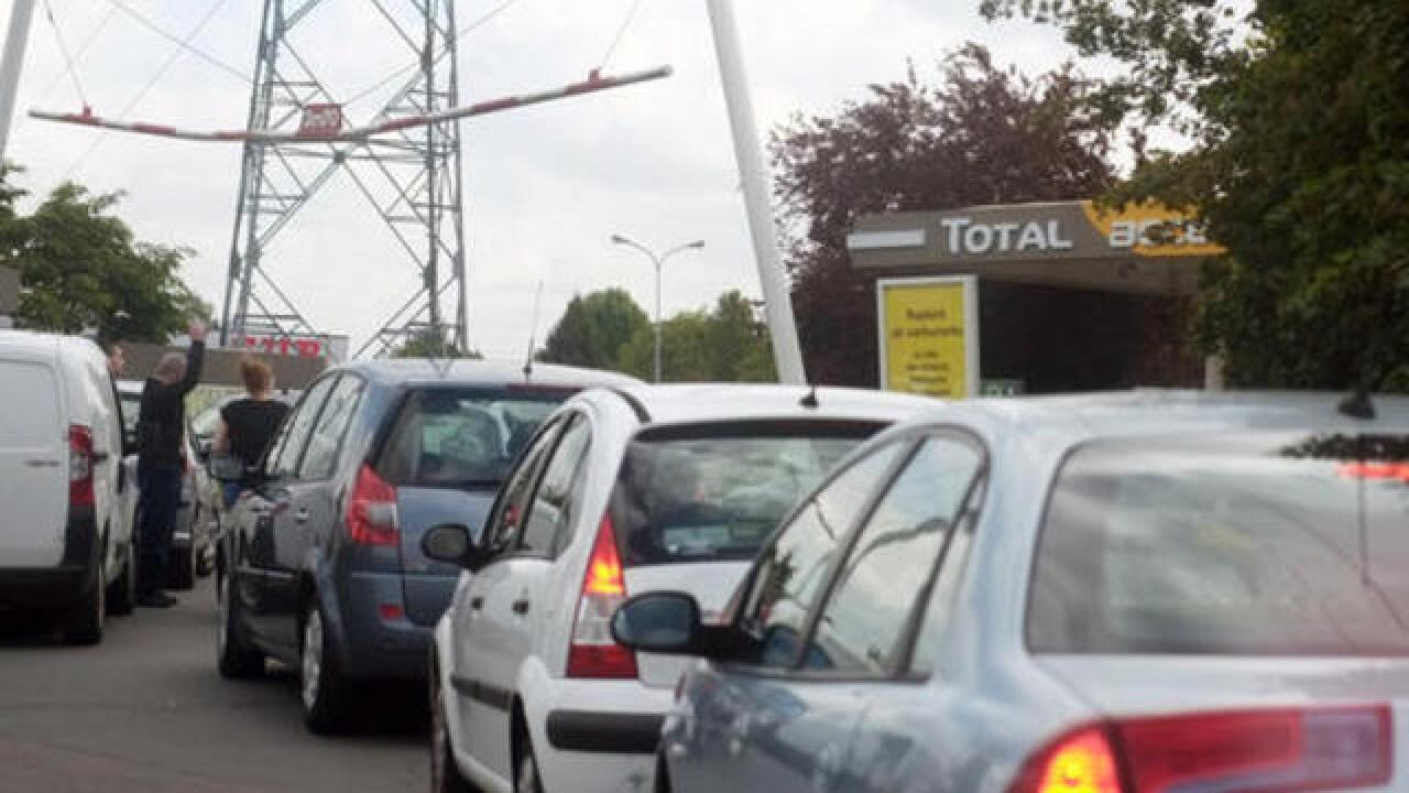 France: Day of strikes, protests, fuel blockades