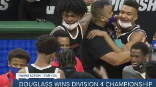 Detroit Douglass wins first boys basketball state title