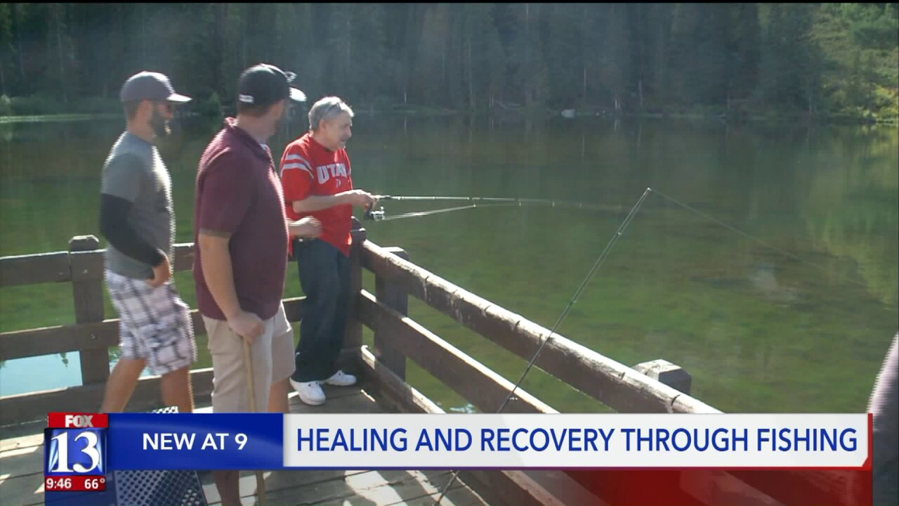 Utah organization uses fishing as means to recovery for homeless and addicts