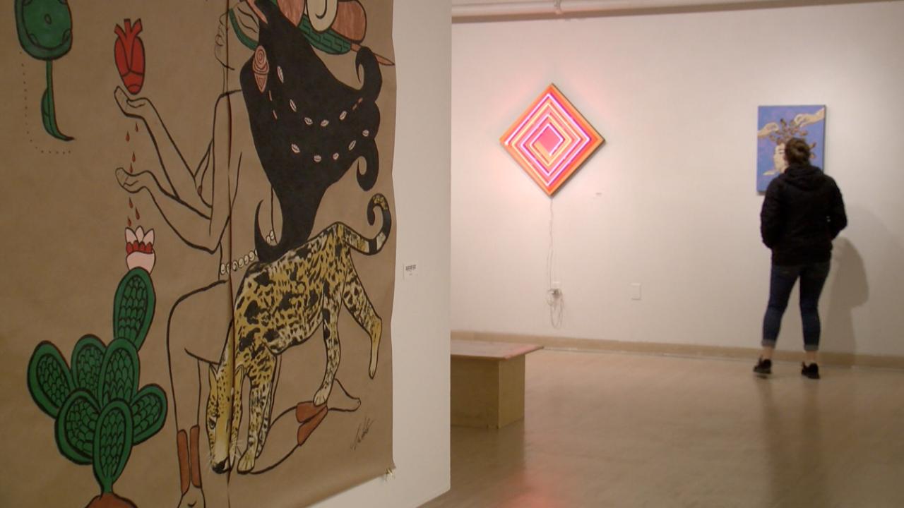Hyphenated Americans Art Exhibit