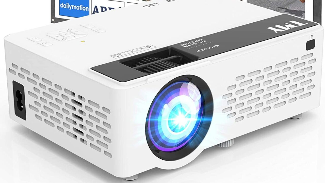 Get a projector with a 100-inch screen on Amazon for just $69.99