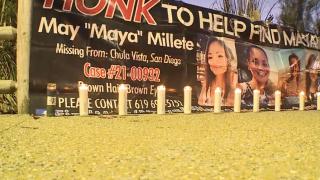 Prayer vigil held in Chula Vista for Maya Millete