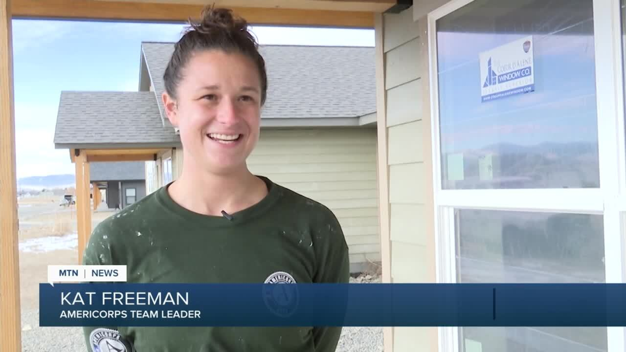 Kat Freeman, Americorps