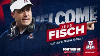 The University of Arizona announced Jedd Fisch as its football team's new head coach Wednesday morning.