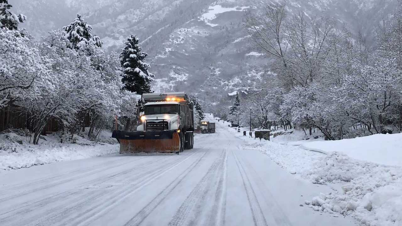Winter weather advisory in effect for parts of Utah through midday Monday