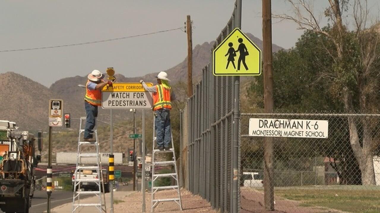 Pedestrian deaths surge in Tucson