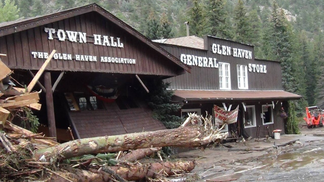 Glen Haven Town Hall looking for funds to 'raise the roof' after devastating floods