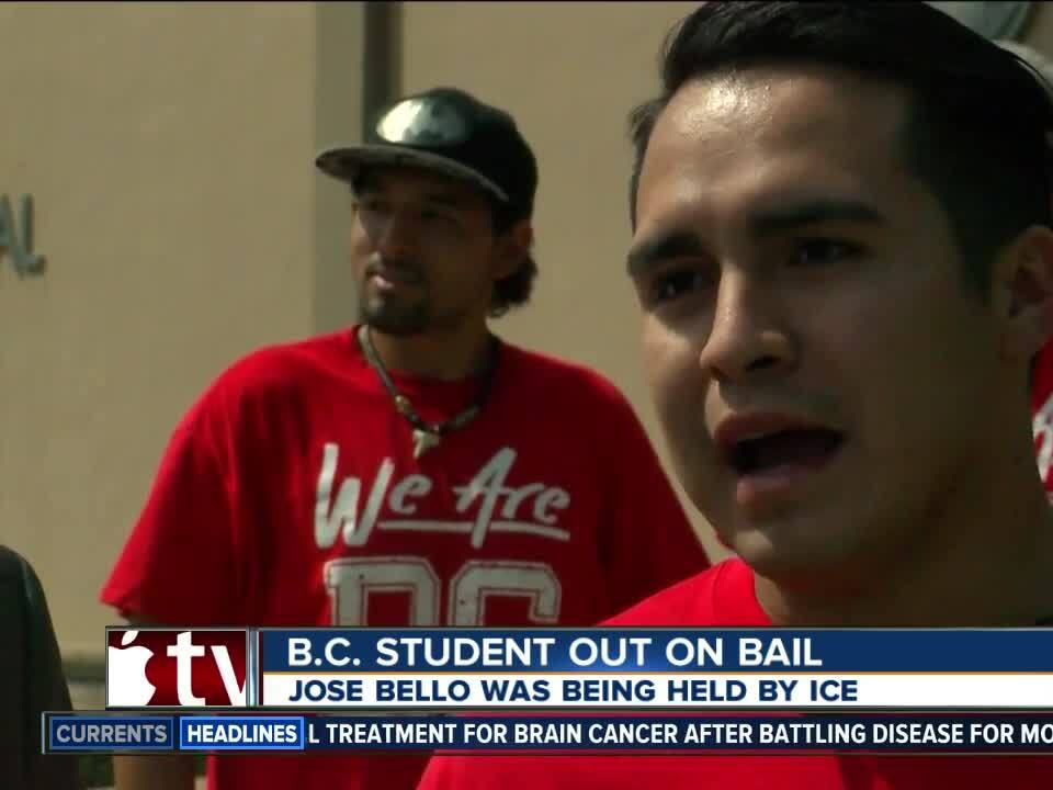 B.C. student held by ICE released today
