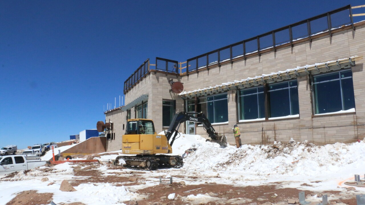 New Pikes Peak Summit Visitors Center