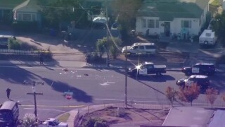 El Cajon officer dragged by vehicle