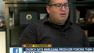 Church vs pot producing facility