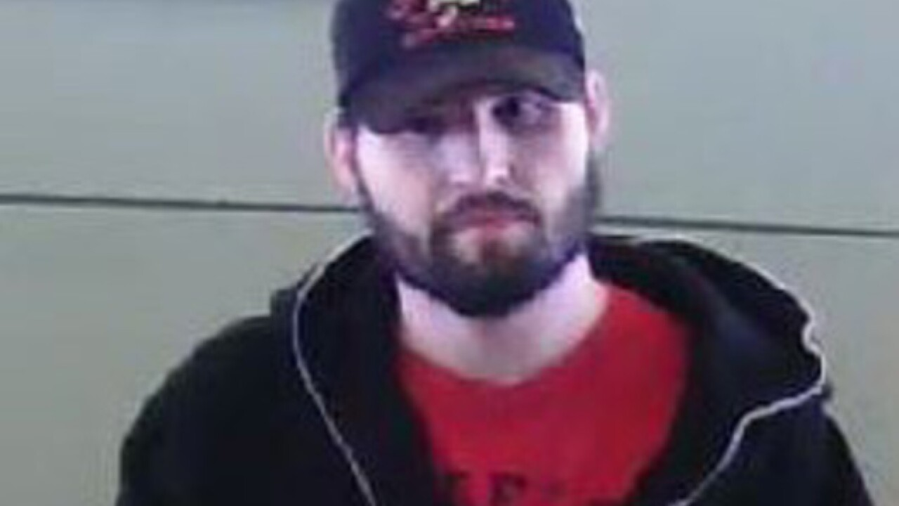 Kansas City police searching for suspect in Arvest Bank robbery