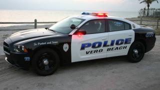 WPTV-Vero-Beach-Police-cruiser-at-beach