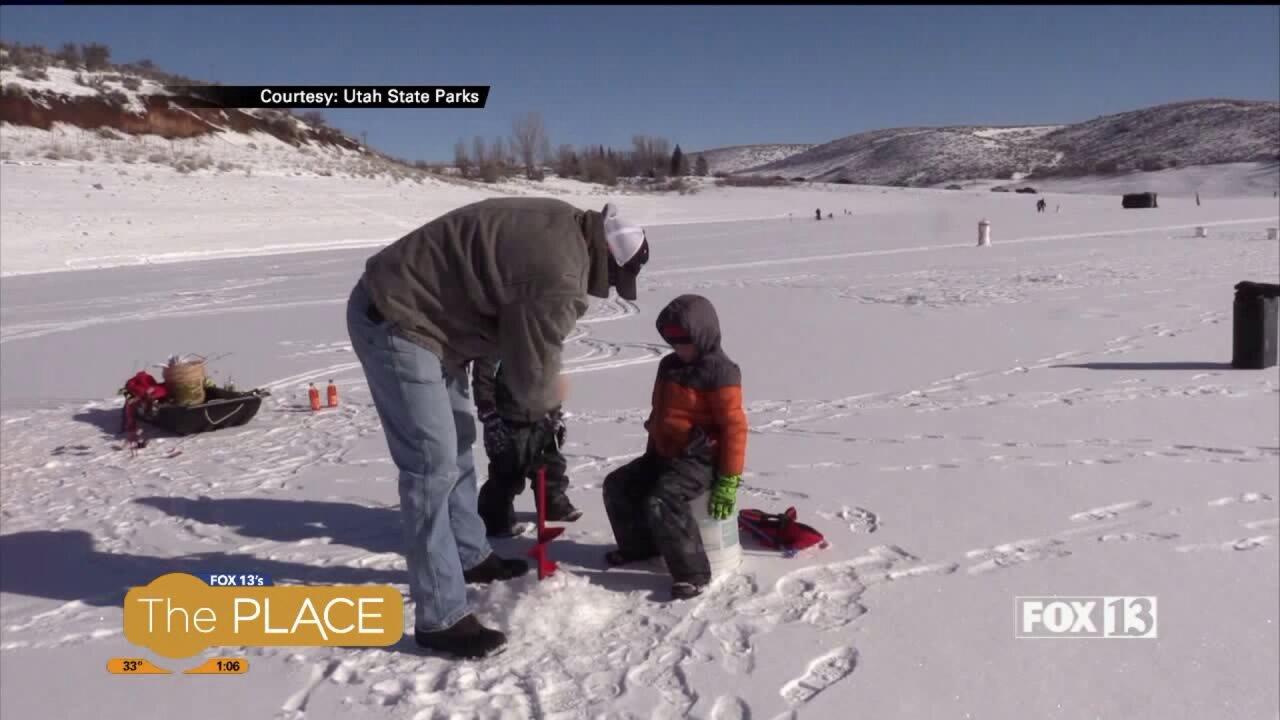 Utah Adventure: IceFishing