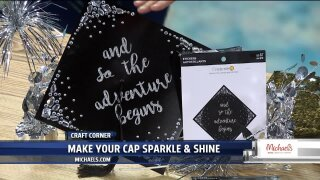Customize your graduation cap with easy kits from Michaels Craft Stores