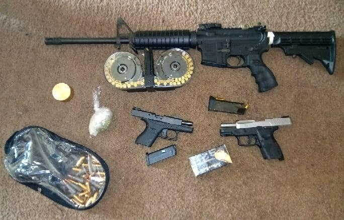 Photos: 2 arrested after cocaine, guns seized in Petersburg drug raid