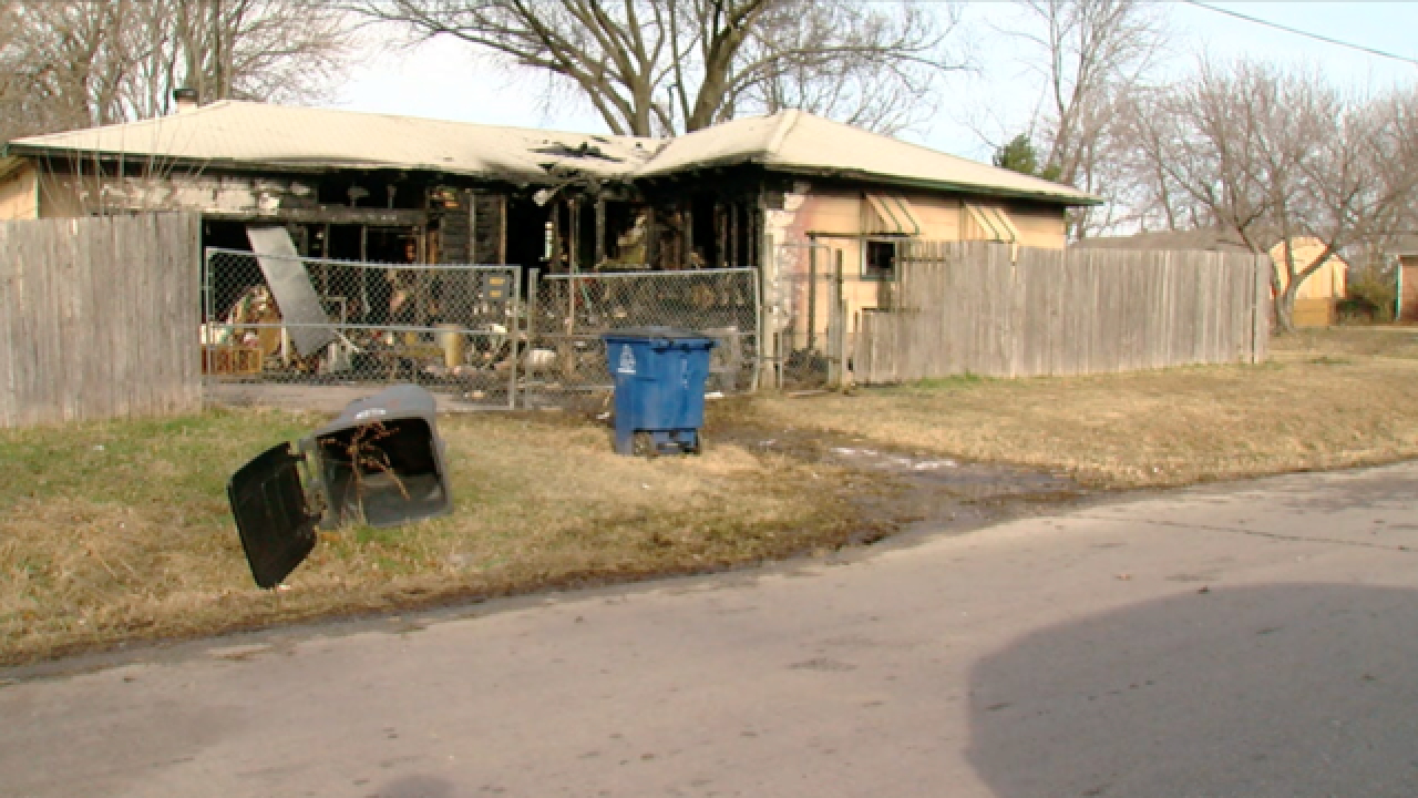 North Tulsa house fire ruled as arson