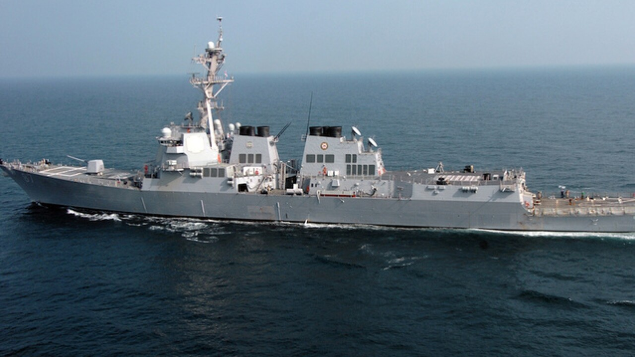 Yemen rebels fire 2 missiles at US ship; Both miss