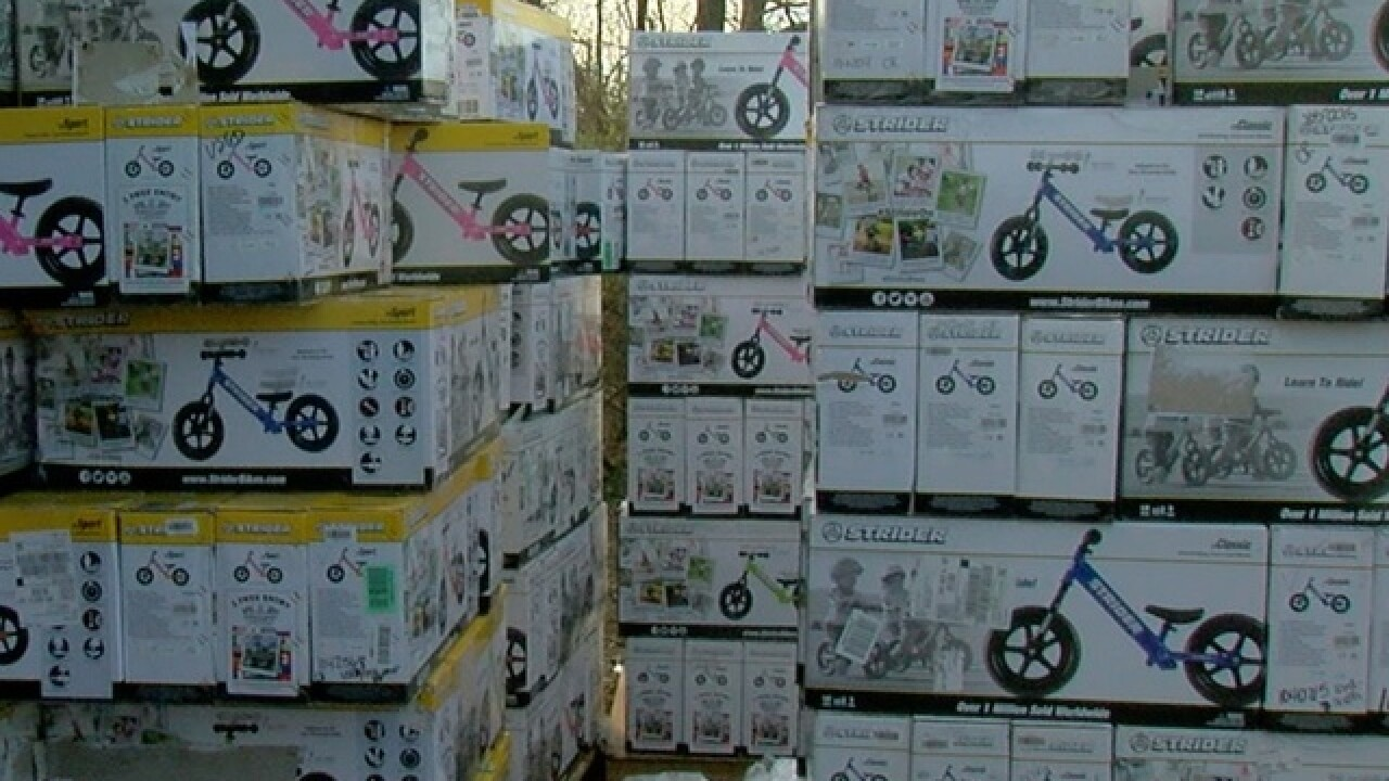 Charity gives 350 NKY kids bikes for Christmas