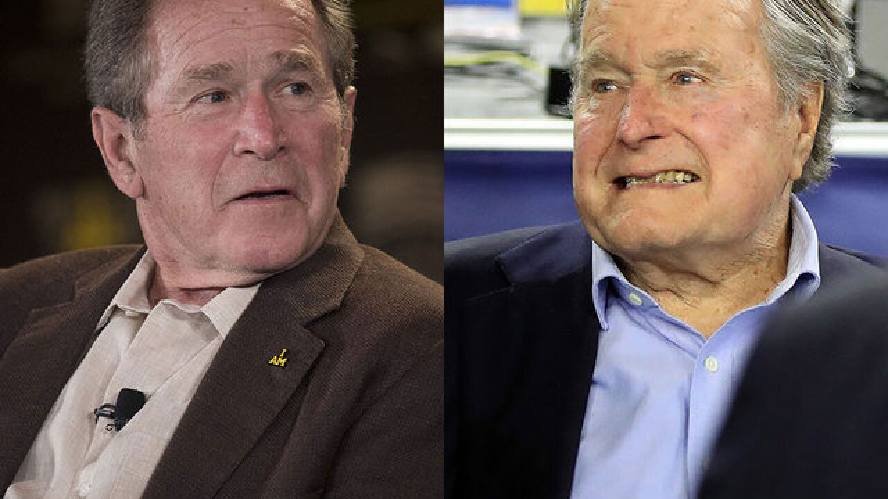 Opinion: It's time for George W. and George H.W. Bush to come out against Trump