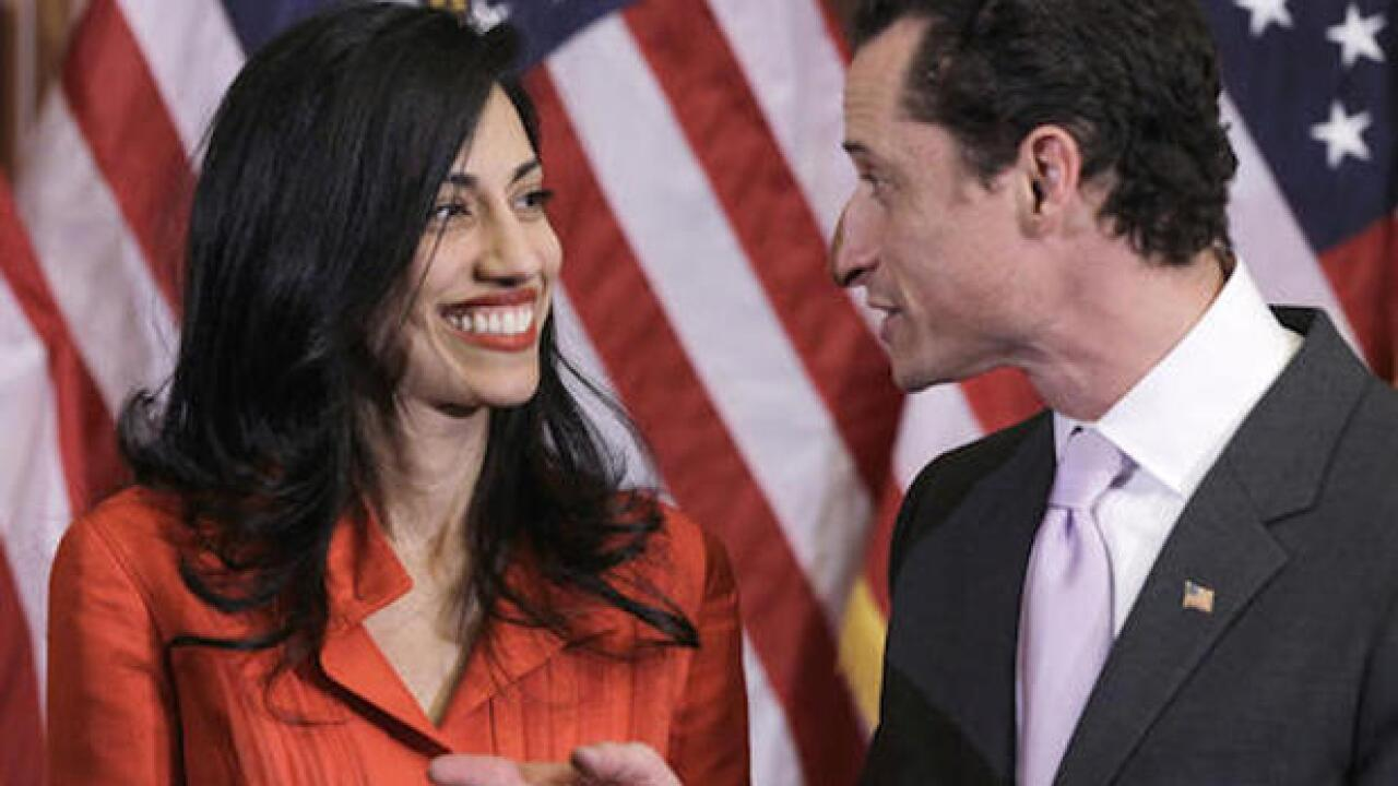 Anthony Weiner's wife Huma Abedin files for divorce