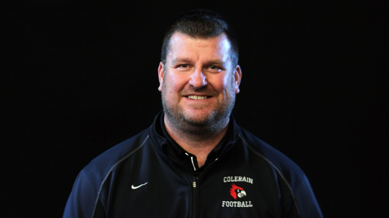 Colerain Football head coach Shawn Cutright