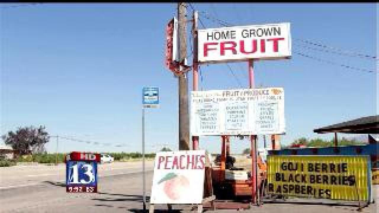 Roadside fruit stands a longstanding Perry tradition