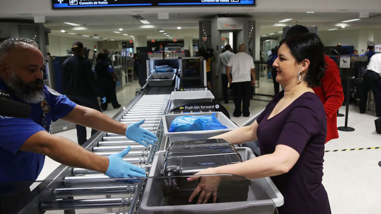 Travelers should leave Christmas gifts unwrapped, airport suggests
