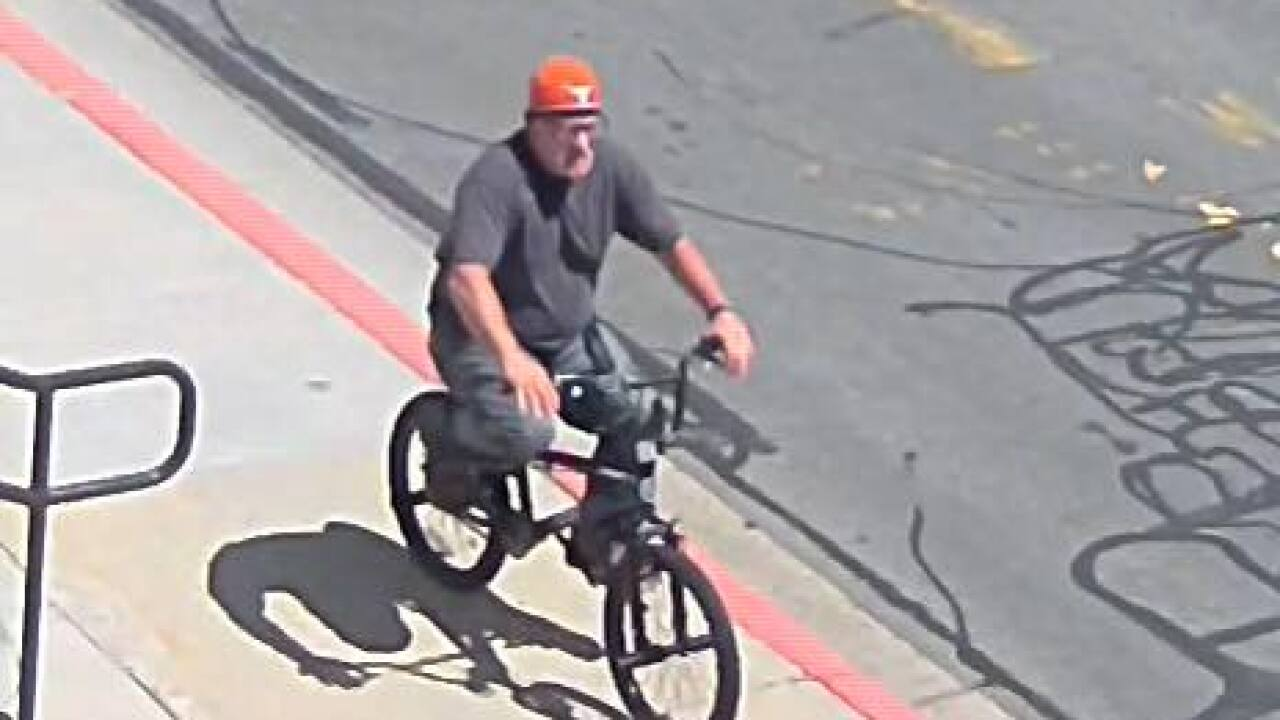 Bountiful Police seek help identifying man who stole bike from Scout at local library