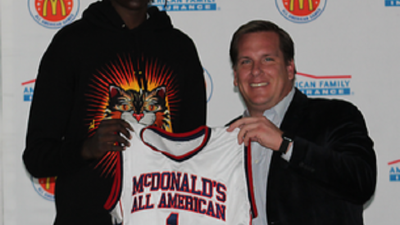 Bol Bol of Findlay Prep selected to join McDonald's All American Boys Team