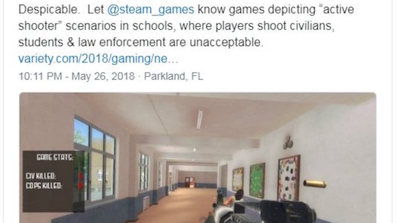 Parents, politicians outraged by game marketed as an active shooter 'simulation'