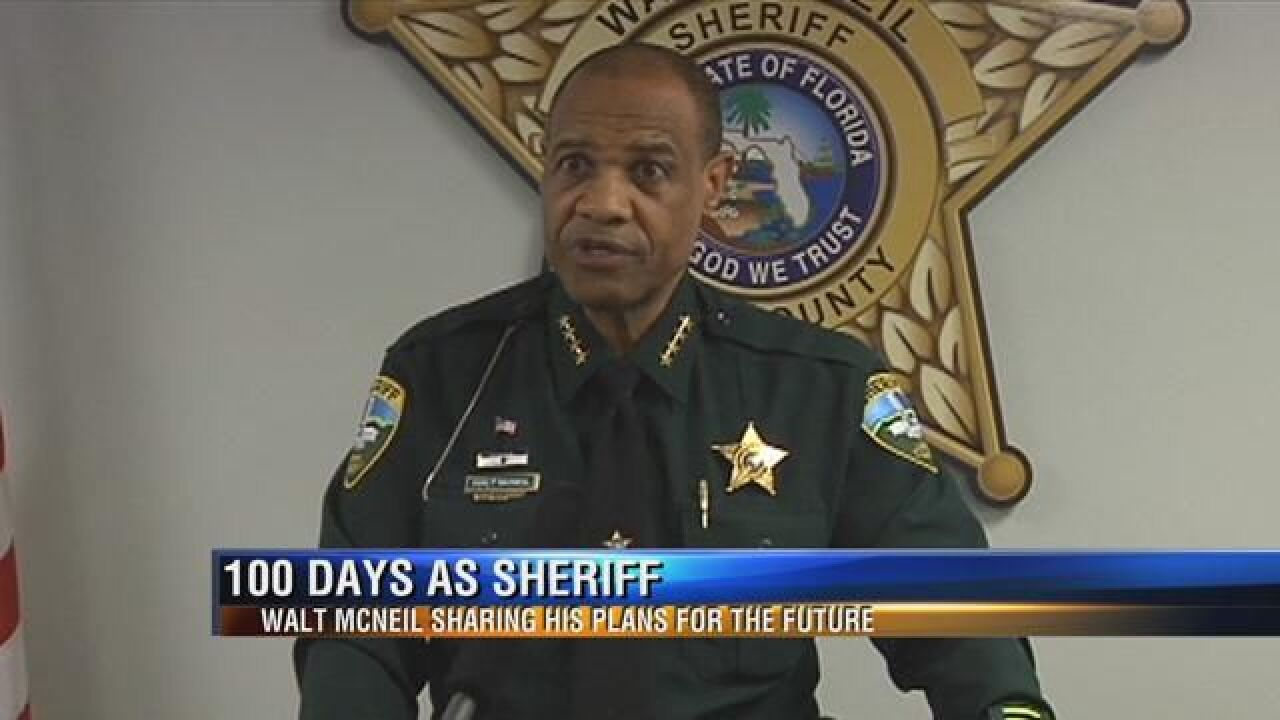 Following First 100 Days in Office, Leon County Sheriff Walt McNeil Details Future Plans