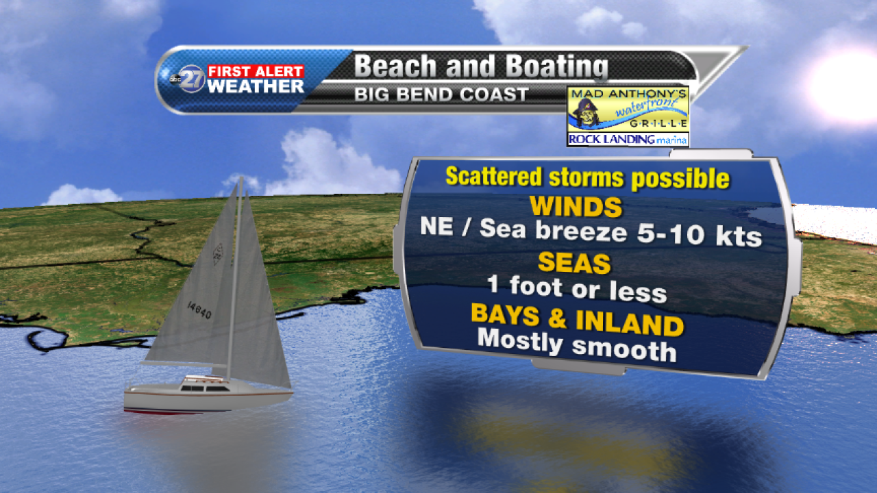 Beach and Boating forecast A (08/24/2017)