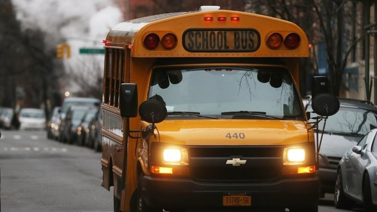 Indiana school bus driver arrested after she let kids drive bus