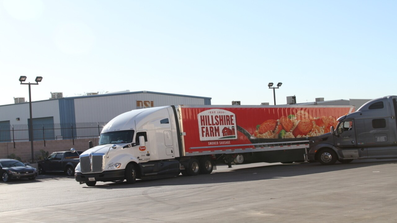 Tyson Foods donates 31K pounds to Three Square