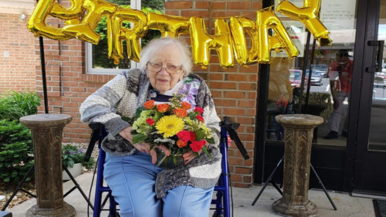 Indiana Woman Turned 100 After Beating COVID-19