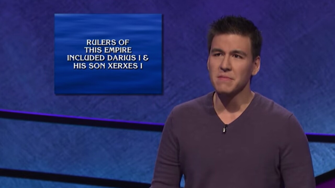 James Holzhauer is racking up winnings. 'Jeopardy!' is racking up ratings