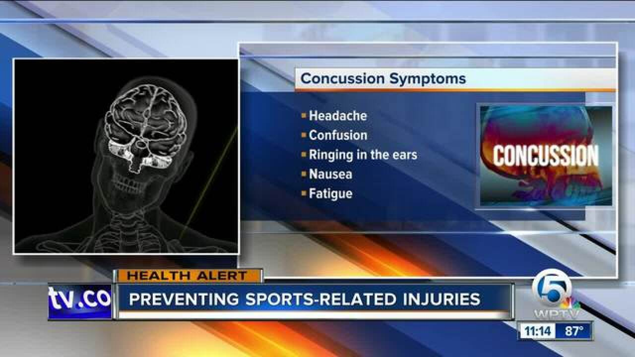 Advice on preventing sports-related injuries