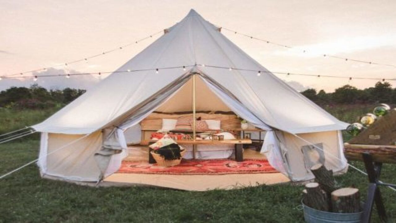 You Can Buy A Yurt Tent For Your Backyard On Amazon