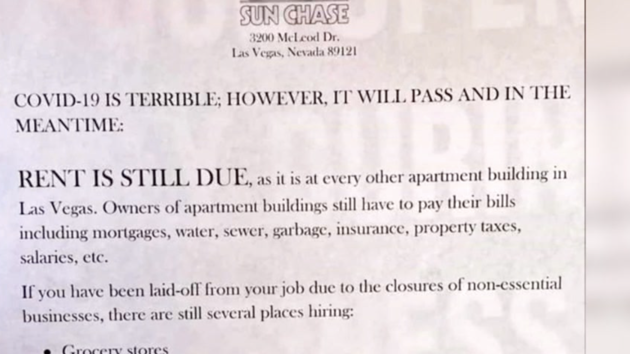 controversial rent notice