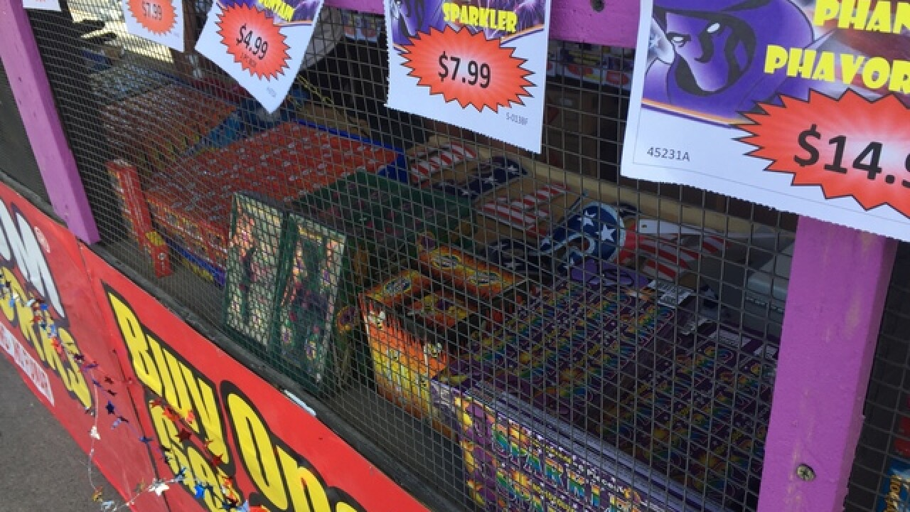 Clark County cracking down on illegal fireworks