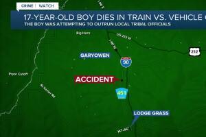 Teen killed in crash while fleeing tribal police in Montana