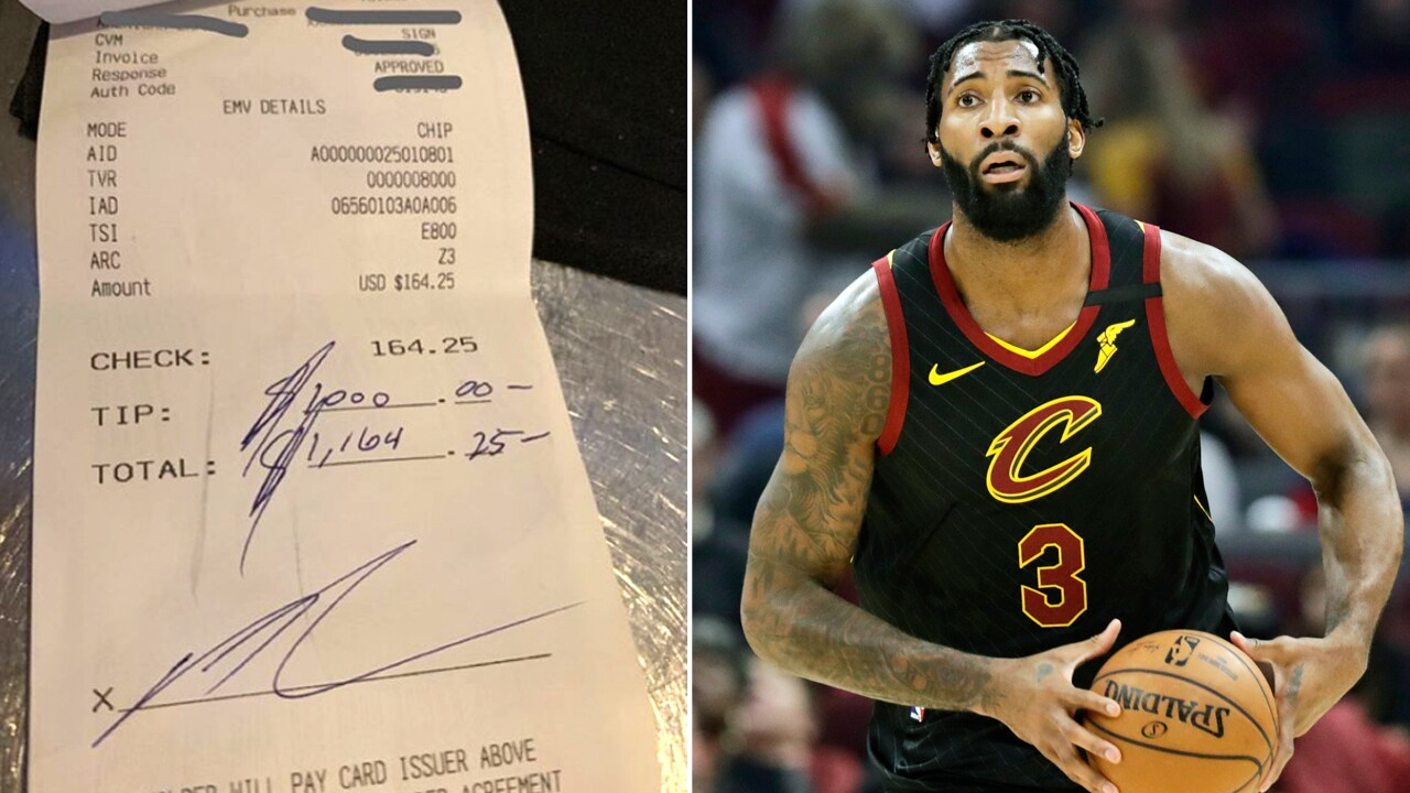 NBA star Andre Drummond gives $1,000 tip to Che Restaurant in Delray Beach.