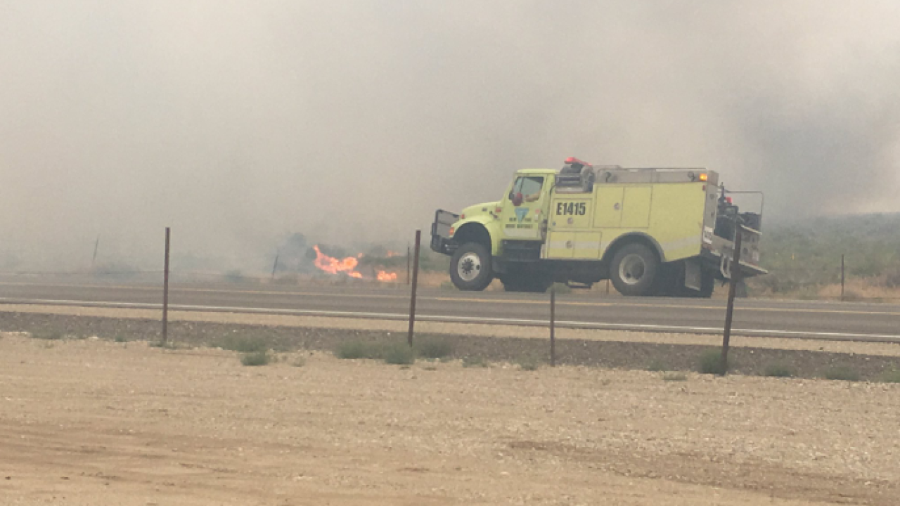 Crews Responding To Grass Fire In South Ada County